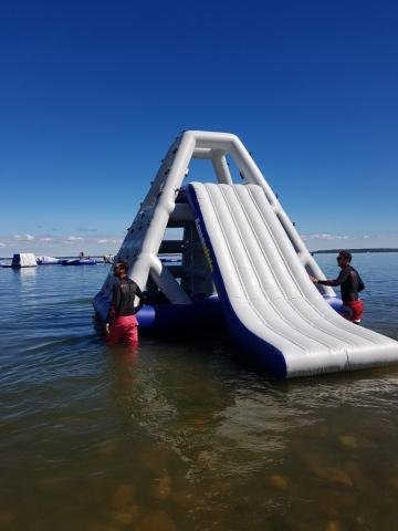 Aquaglide Aquapark; Buffalo Lake