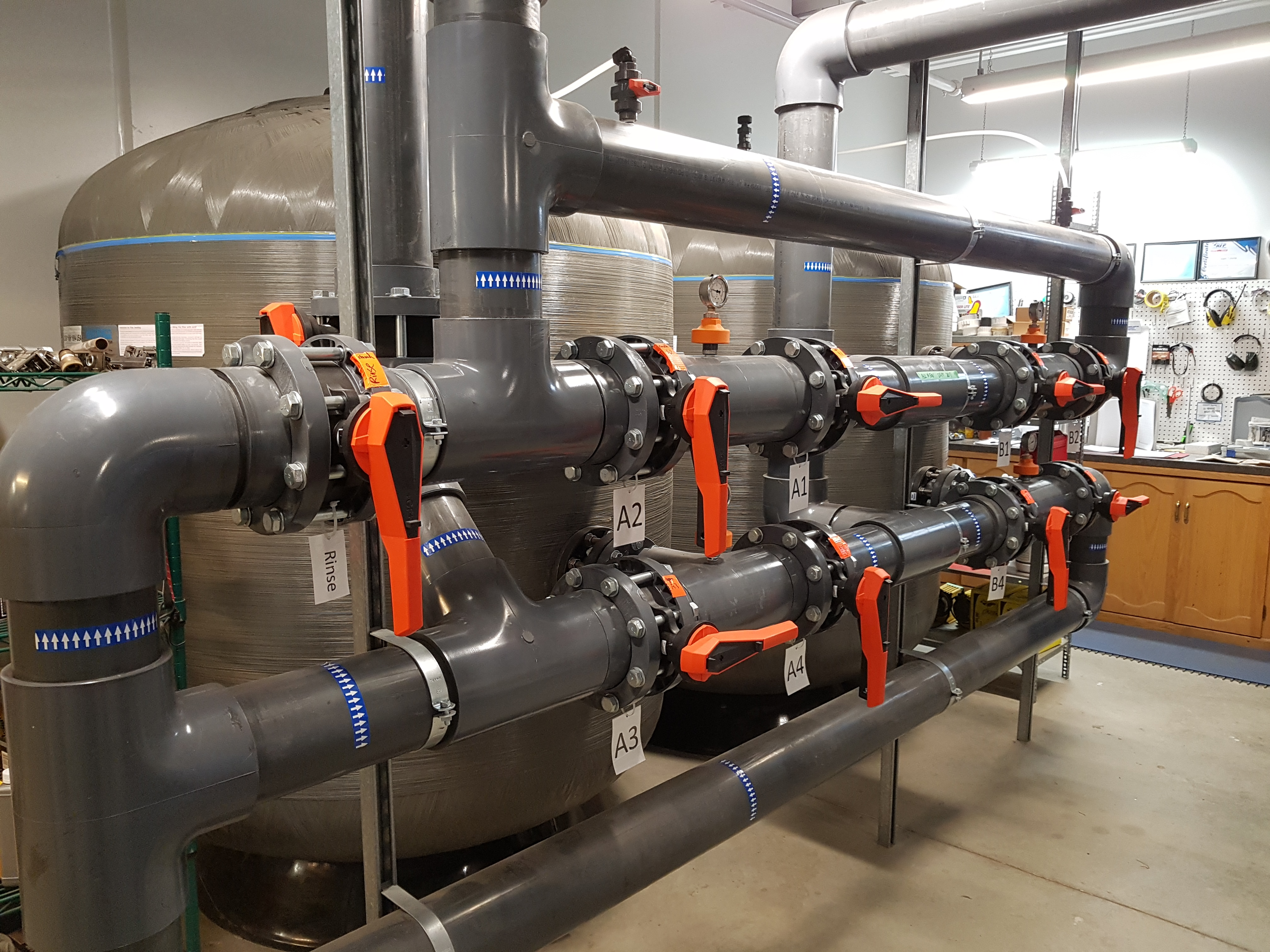 Commercial Filtration System Renovation Automated Aquatics